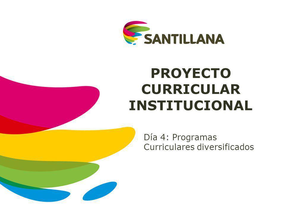 ESTRUCTURA DEL PCI Caracteriza ción de los estudiantes Identidad Programas curriculares diversificados Lineamientos pedagógicos Programación Curricular Anual De habilidades De conocimientos De capacidades por área y grado