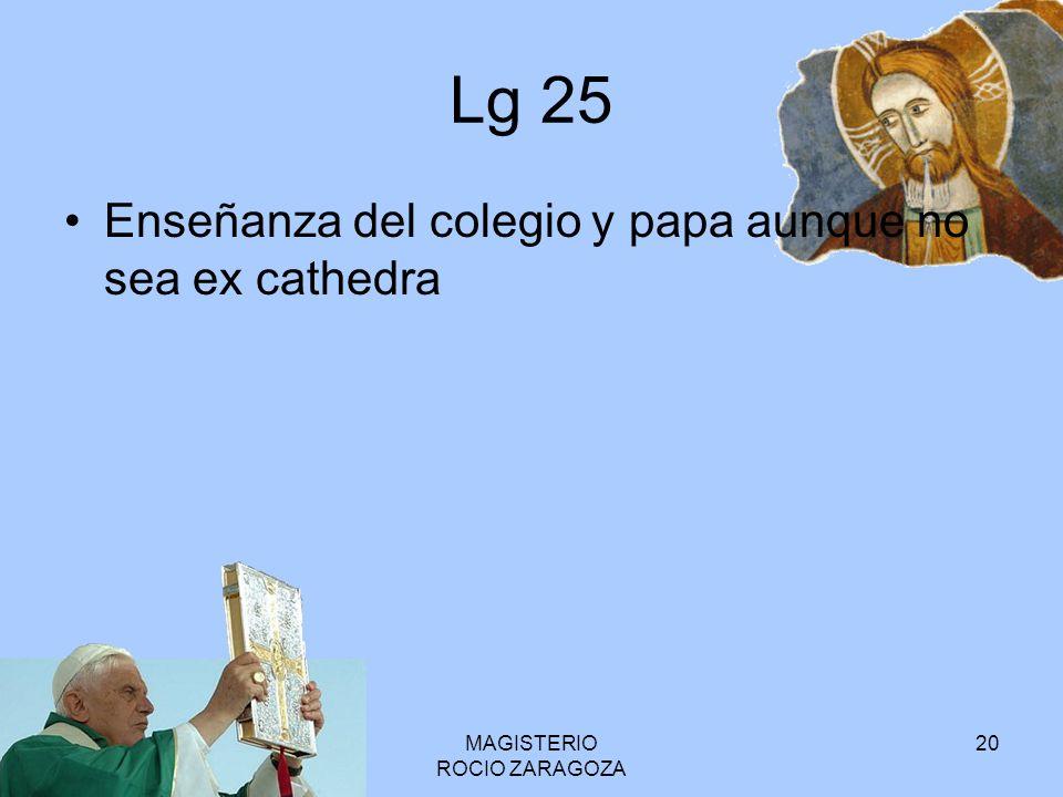 MAGISTERIO ROCIO ZARAGOZA 21 LG 22 ¿En qué consiste la naturaleza y forma colegial.