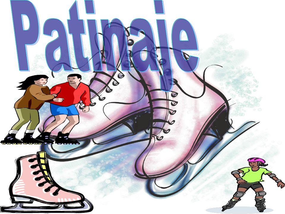 El patinaje es una actividad recreativa y deportiva consistente en deslizarse sobre una superficie regular, mediante unos patines colocados en los pies.
