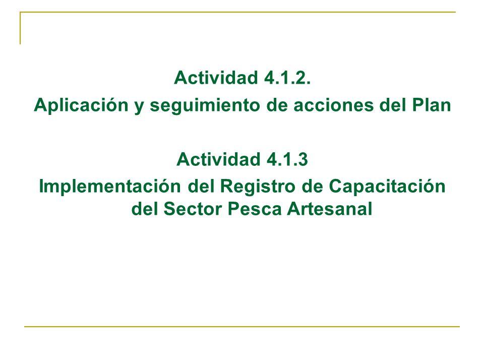 Acciones Realizadas Julio 2006 – Setiembre 2007 Se cuenta con el Informe de seguimiento del Programa Anual de Capacitación del II Semestre 2006, en proceso el I Semestre 2007.