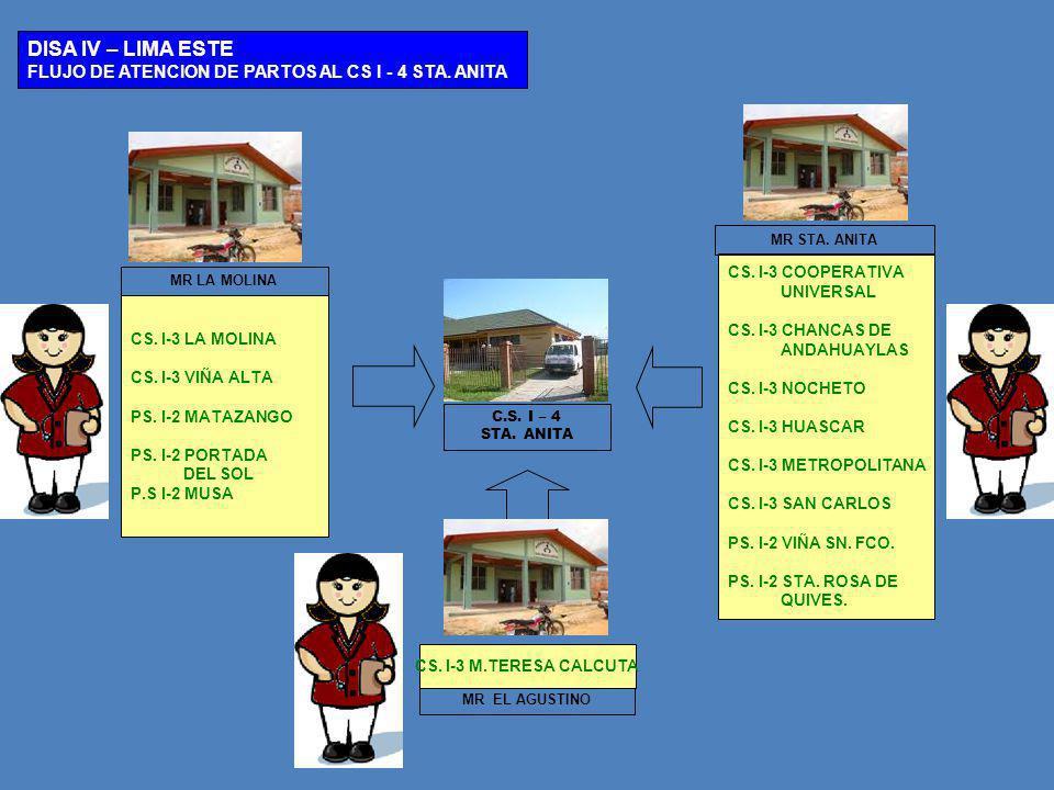 MR EL AGUSTINO C.S.