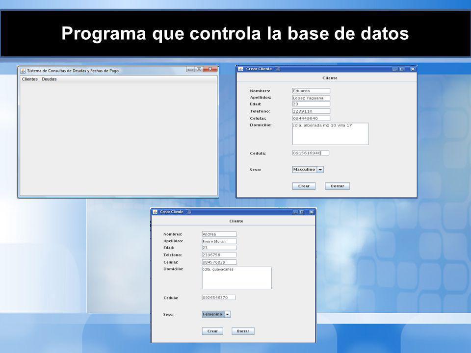 Programa Principal Código Fuente #.