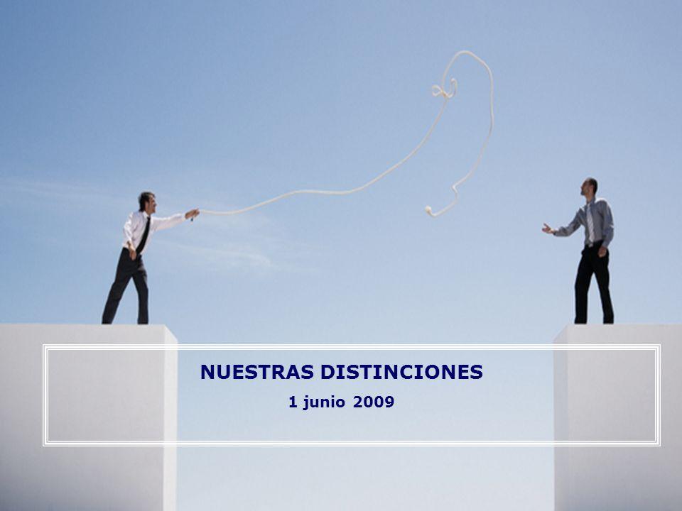 Nuestras distinciones 2 Distinciones lingüísticas: Las distinciones tienen que ver mucho con el lenguaje; nada existe si no puede nombrarse.