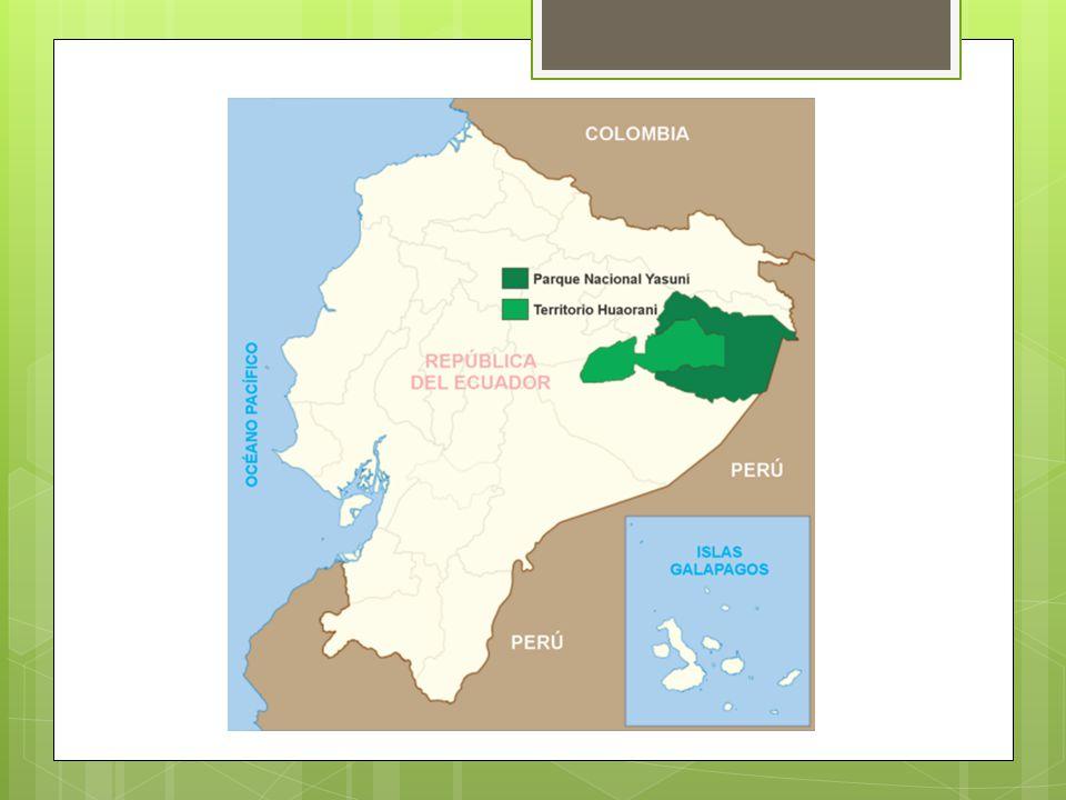 Iniciativa Yasuní-ITT La Iniciativa Yasuní-ITT es una propuesta planteada desde 2007 por parte de grupos de presión ambientalistas y casi inmediatamente adoptada por el gobierno de Ecuador, para mantener como zona intangible una parte del Parque Nacional Yasuní2007grupos de presión ambientalistasgobierno de Ecuadorzona intangibleParque Nacional Yasuní Mantener la reserva de la biósfera alejada de la explotación petrolera que se realiza en varias zonas de la selva amazónica ecuatoriana.