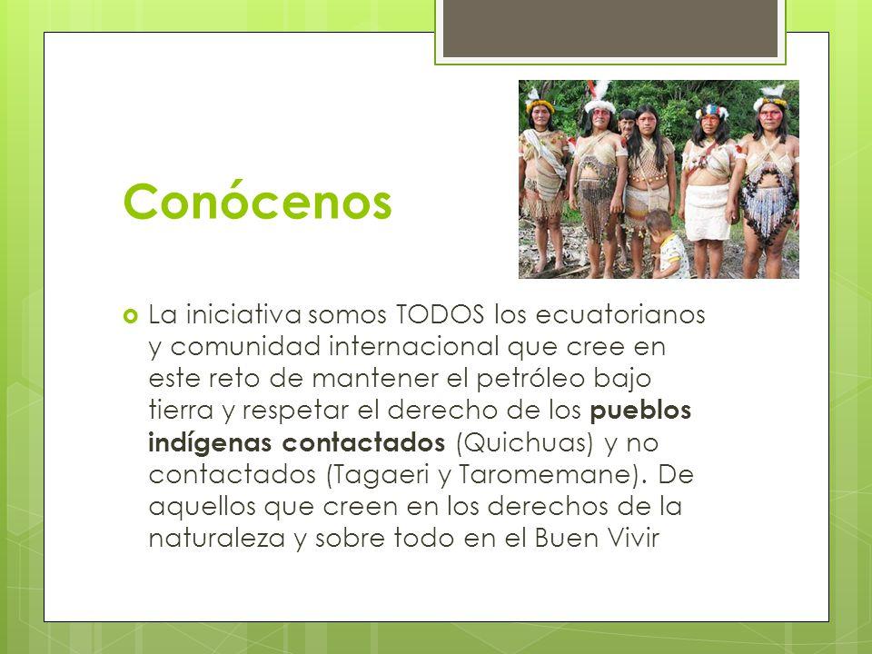 Conócenos La iniciativa Yasuní ITT consta de un grupo de personas que creemos en la iniciativa, que buscamos mantener vivo un espacio importante de la selva amazónica, un lugar diferente que conserva en su interior la esencia especies exóticas y únicas a nivel mundial.