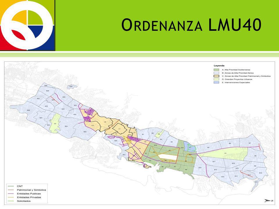 Distrito Metropolitano de Quito ZONA DE PRIORIDAD A Al sur, la Av.