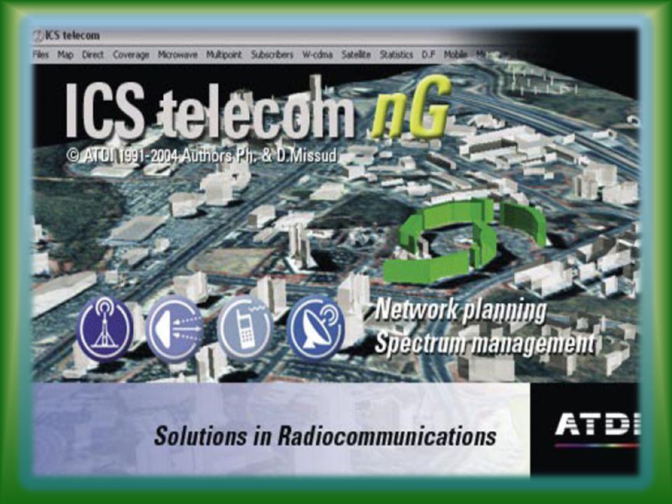 Es un software de simulación que emplea un sistema de información geográfica orientado a la radio propagación.