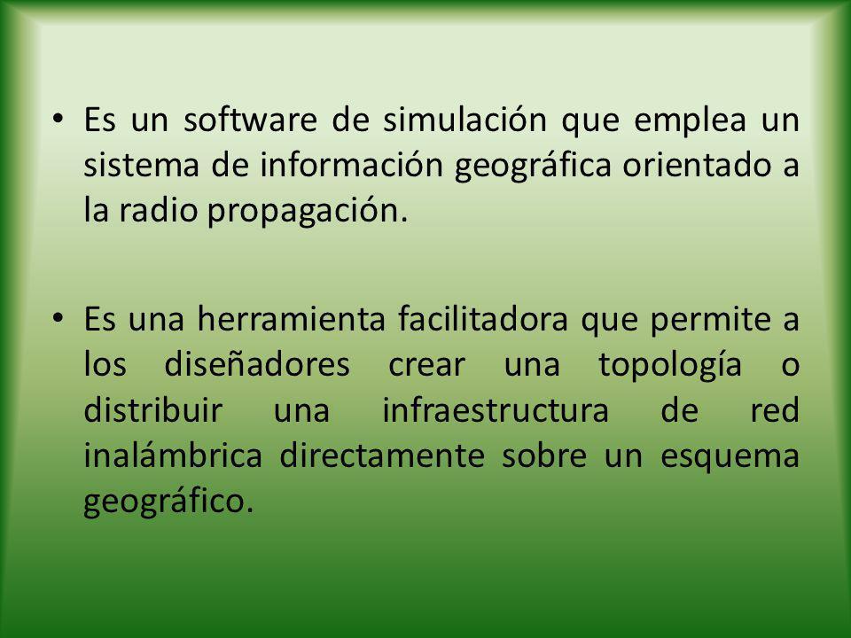 FASES DE CONSTRUCCIÓN DE GRÁFICOS DE COBERTURA Zona de Trabajo: Cargar mapas de la zona de estudio Diseño: Construcción de la estación de transmisión de la señal de radio.