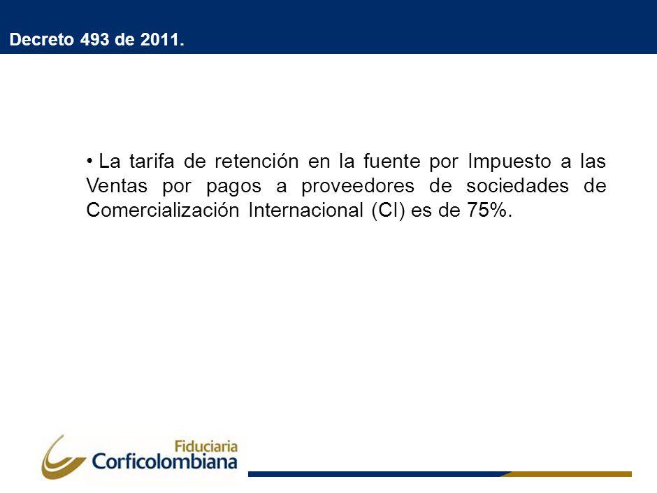 Decreto 2521 de 2011.