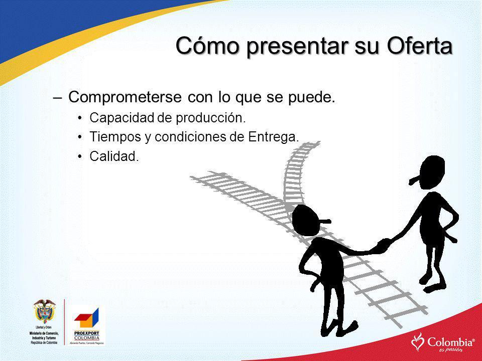 Cómo presentar su Oferta FORMA –Inglés.–Publicidad (Página Web).