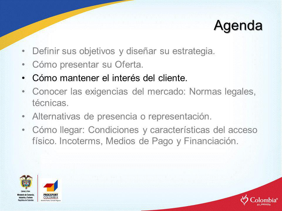 Cómo mantener el interés del cliente Debe ser Fácil trabajar con su empresa (Confiable, Rápido, Eficiente).
