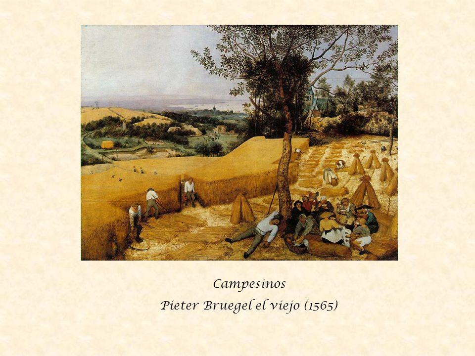 Paisaje con la caída de Ícaro Pieter Bruegel el viejo (1558)