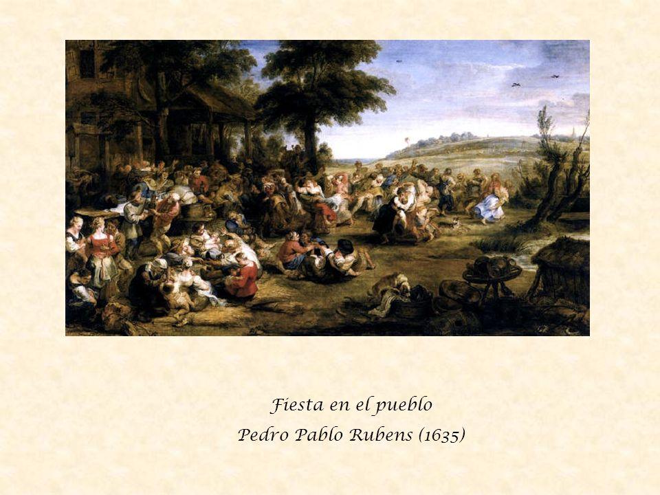 Festejo de campesinos David Teniers el joven (1650)