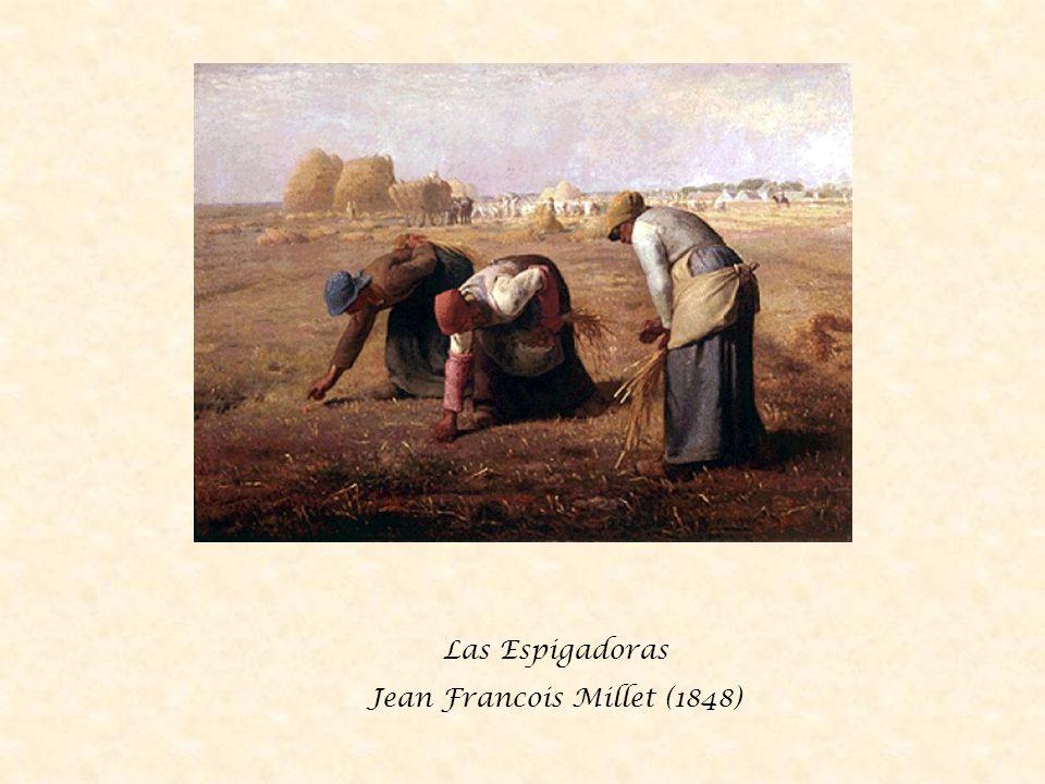 Sembrando patatas Jean Francois Millet (1855)