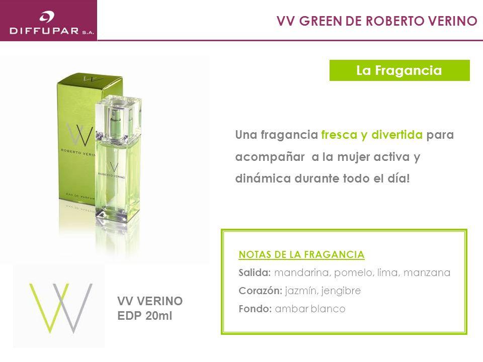 VV ROSE DE ROBERTO VERINO Una fragancia suave y femenina para acompañar a la mujer romántica y soñadora durante todo el día.