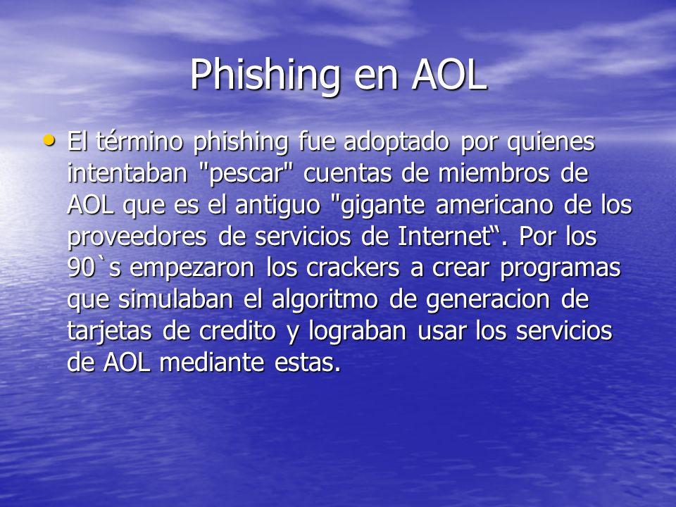 Phishing en MSN Messenger Dos de los ejemplos más recientes son las páginas quienteadmite y noadmitido destinadas a robar el nombre y contraseña de los usuarios de MSN a cambio de mostrarle a los visitantes que las utilicen, quien los ha borrado de su lista de contactos.
