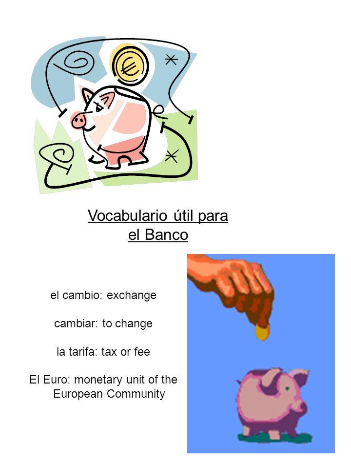 Los Precios Cambiar dinero: pesetas divided by # of ptas.