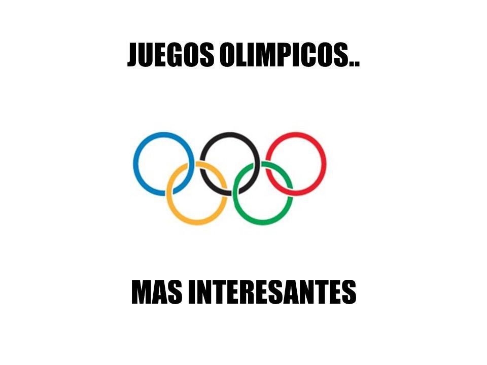 Hay algunos años en los que las olimpiadas son un poco aburridas, y os proponemos que, para las olimpiadas de 2012, toméis algunas de las ideas que os proponemos a continuación.