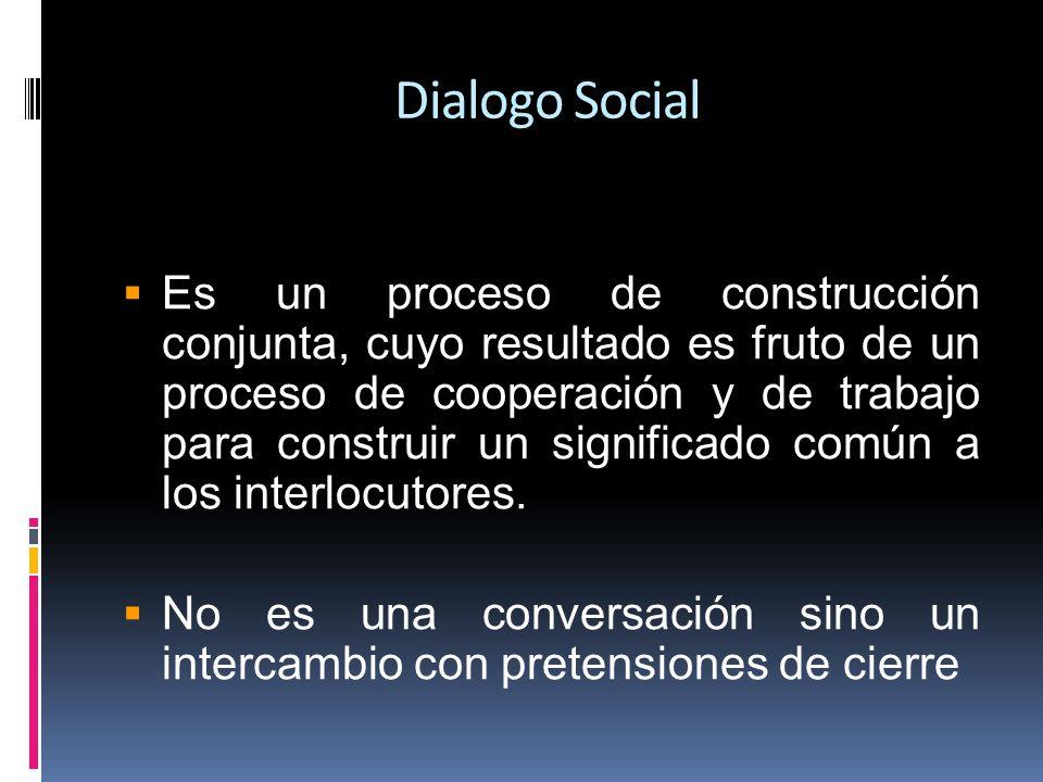 Debe promover el logro de un consenso y la participación democrática de los principales interlocutores sobre las cuestiones en materia política, económica y social.