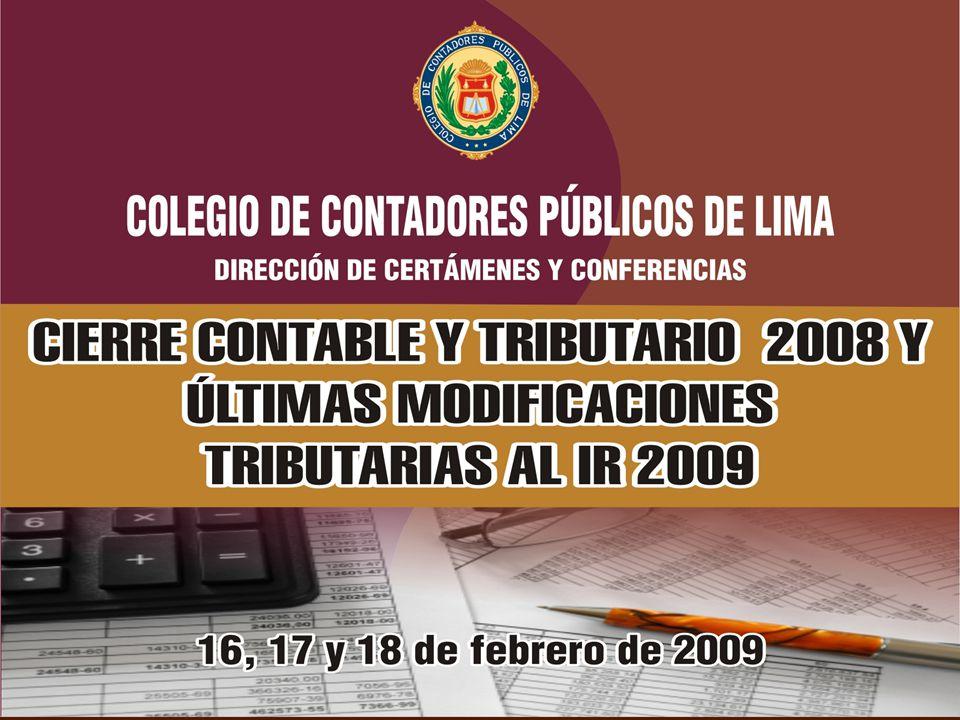 Plana de Expositores CPC Luciano Carrasco Buleje Asesor y Consultor Tributario de Empresas Nacionales.