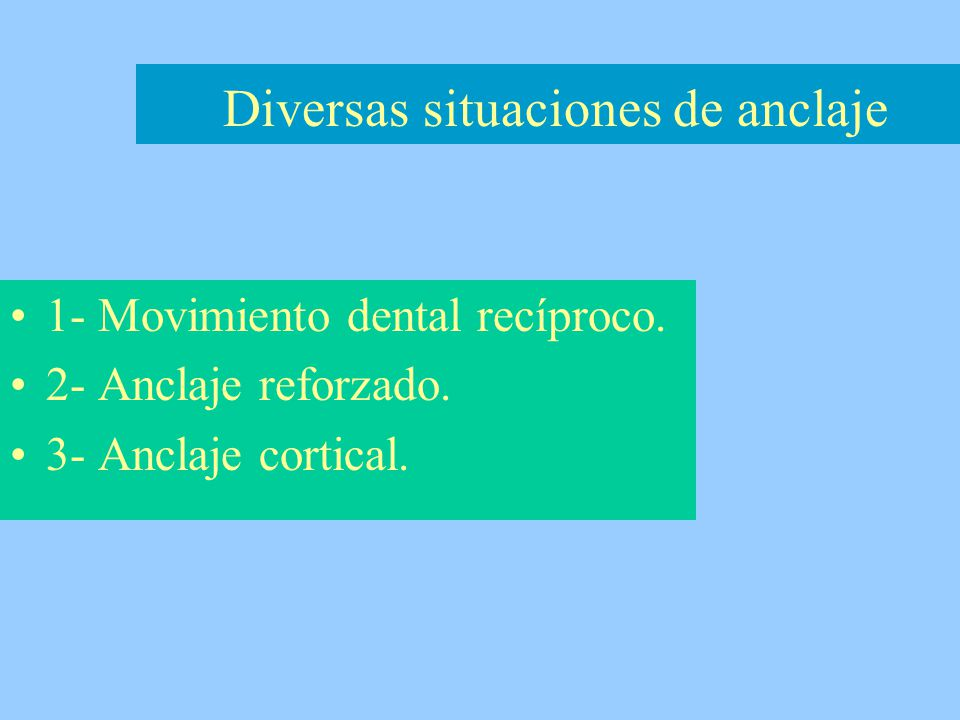 Para lograr el movimiento dental recíproco, se necesitará que la fuerza se distribuya sobre la misma superficie total del LPD.