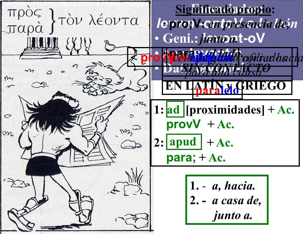 «HERACLES Y EL LEÓN DE LAS PREPOSICIONES GRIEGAS».