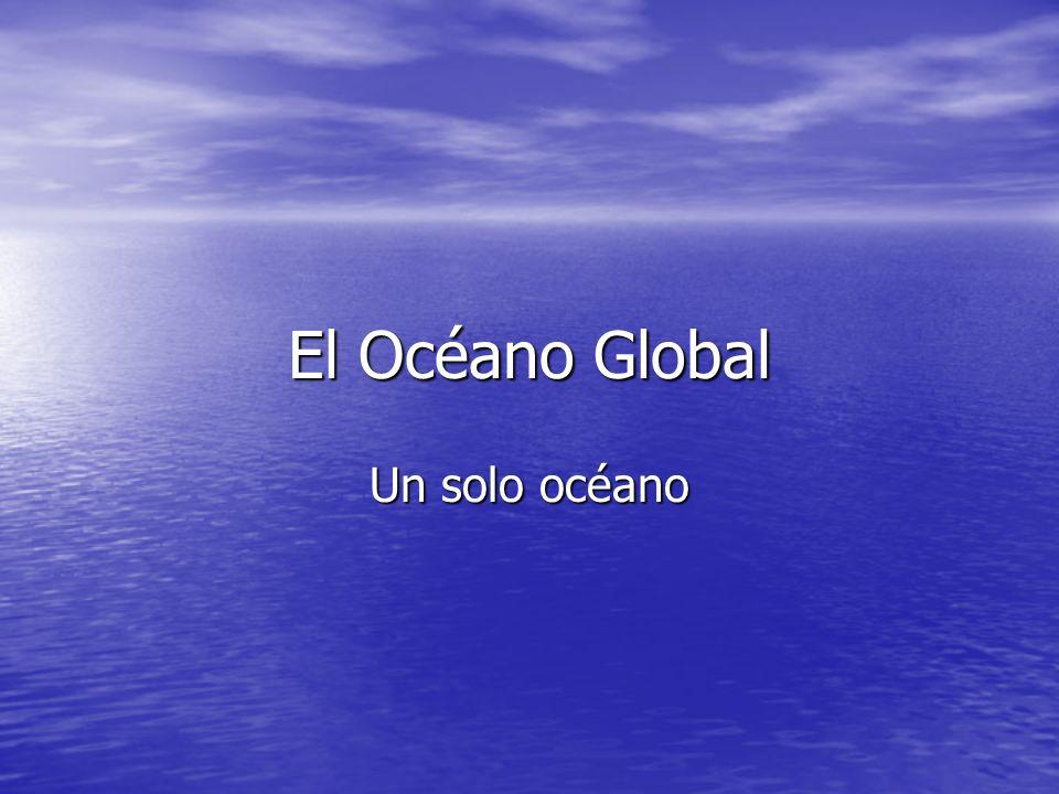 Distribución de tierra y océano 71% de la superficie 361 x 10 6 km 2 es océano.