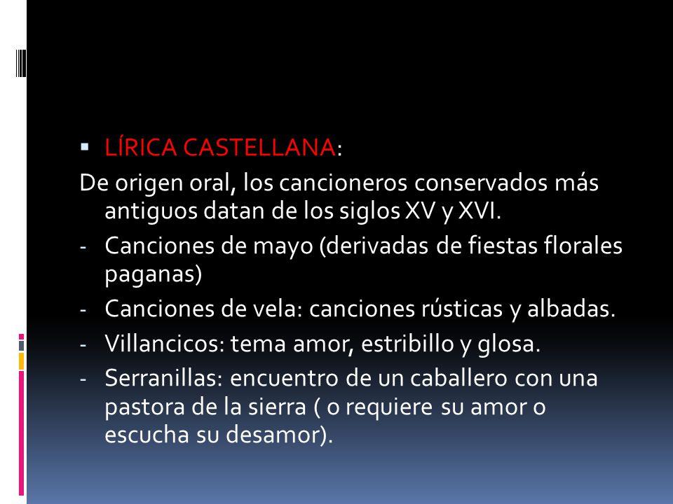 LA ÉPICA: LOS CANTARES DE GESTA Cantares de gesta: poemas épicos narrativos que relatan grandes hechos, surgidos en la Edad Media en España y Francia.