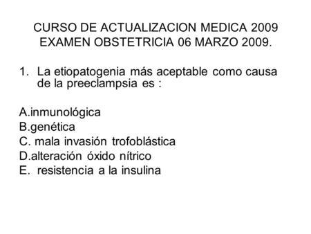 Prueba inmunologica de embarazo