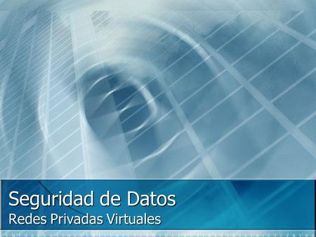 Redes Privadas Virtuales