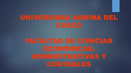 UNIVERSIDAD ANDINA DEL CUSCO