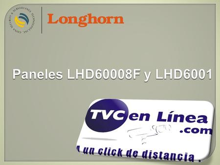 Paneles LHD60008F y LHD6001. LHD6000/6001 dial control panel.