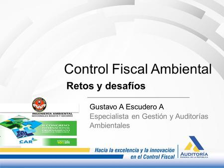 Control Fiscal Ambiental