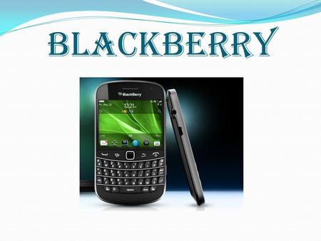 BLACKBERRY.