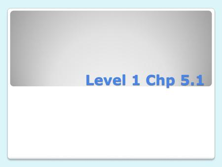 Level 1 Chp 5.1 Abuelo grandfather hair pelo.