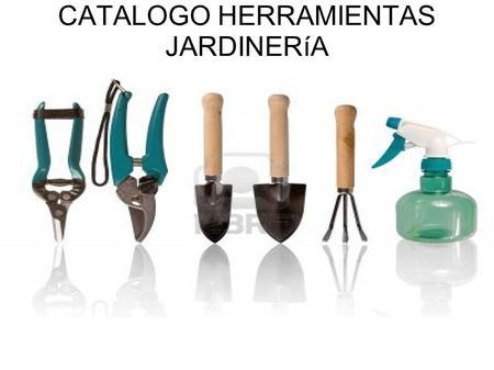 Herramientas para la agricultura ppt descargar - Herramienta de jardineria ...