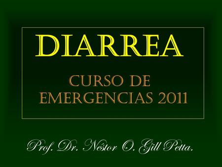 Diarrea cronica en adultos ppt