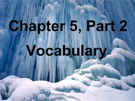 Chapter 5, Part 2 Vocabulary. las afueras outskirts.