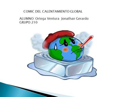 COMIC DEL CALENTAMIENTO GLOBAL