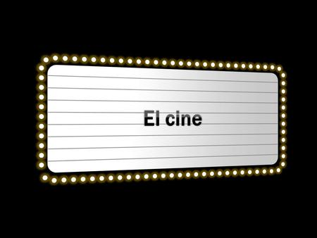 El cine Marquee with 3-D perspective rotation (Intermediate)