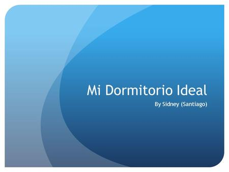 Mi Dormitorio Ideal By Sidney (Santiago).