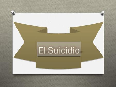 Que es el suicidio ---------------------------------------------------------------------4 Intento de suicidio --------------------------------------------------------------------5.