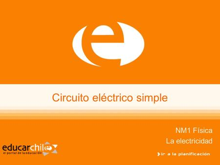 Circuito eléctrico simple