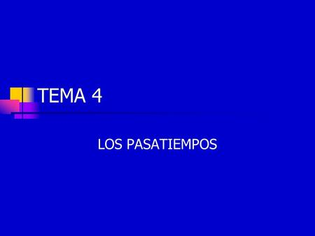 TEMA 4 LOS PASATIEMPOS. El verbo ir (to go) To say where someone is going, use the verb ir.