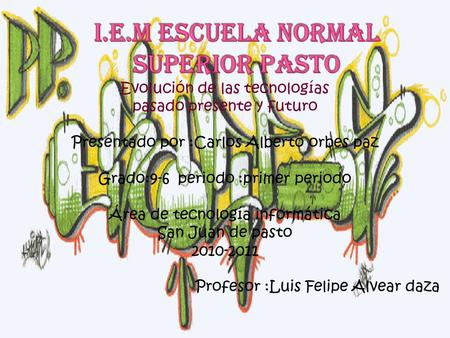 i.e.m escuela normal superior pasto