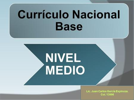 Currículo Nacional Base
