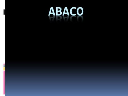 Abaco.
