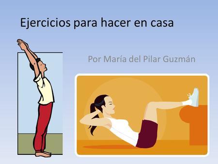 Tema 8 acondicionamiento fisico ppt video online descargar - Aplicaciones para hacer ejercicio en casa ...