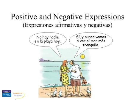 Positive and Negative Expressions