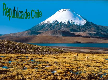 Republica de Chile.